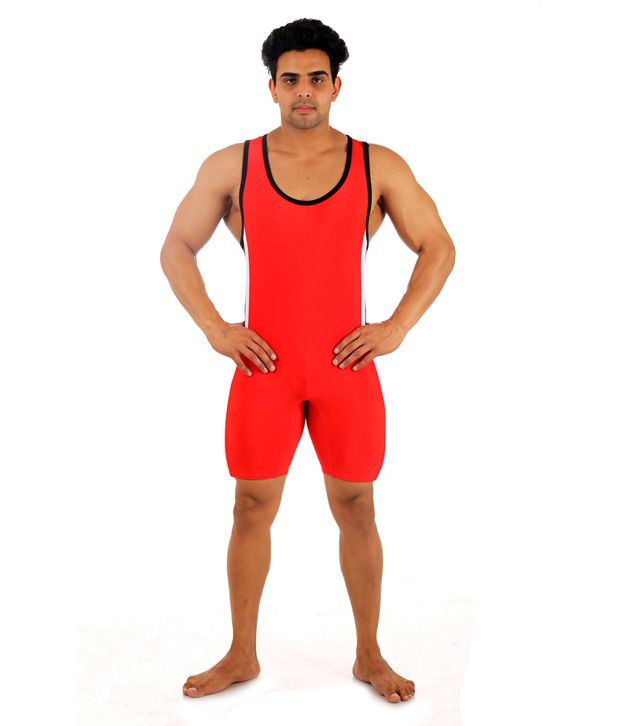 68c0a1972db Male Basics Lycra Spandex Wrestling Kushti And Swimming Costume: Buy Online  at Best Price on Snapdeal
