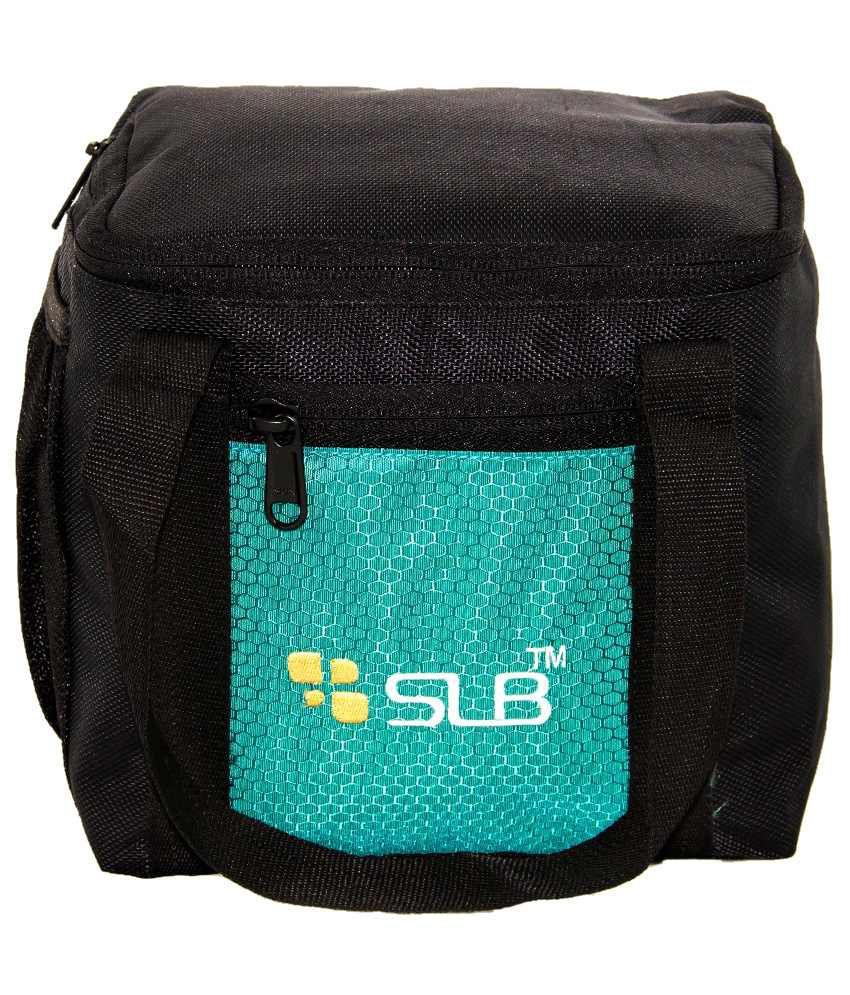 SLB SLB026BGr Black Lunch Bags