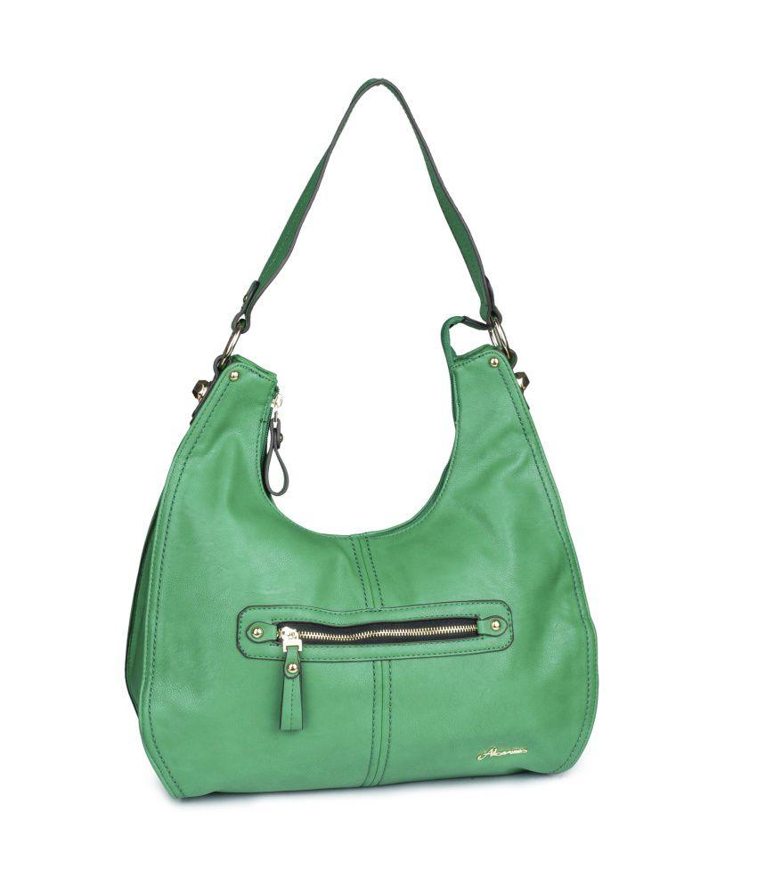 Alonzo Green P.U. Shoulder Bags