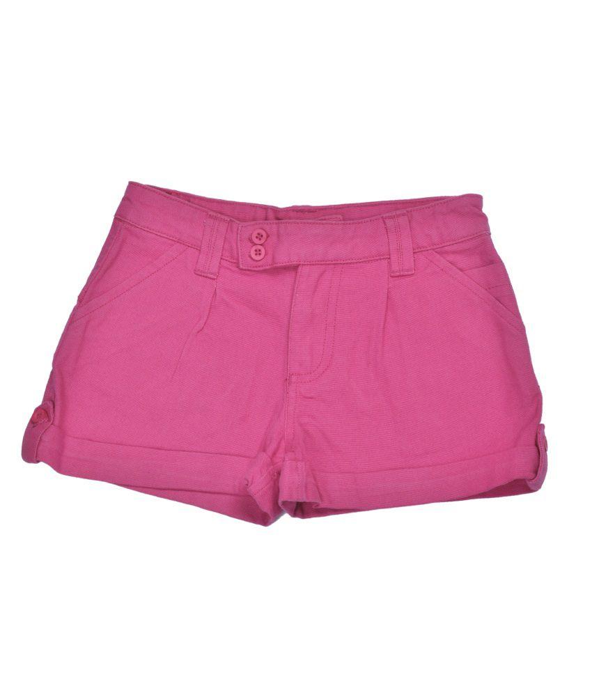 Bio Kid Cotton Pink Shorts
