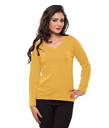 Softwear Yellow Cotton Tees