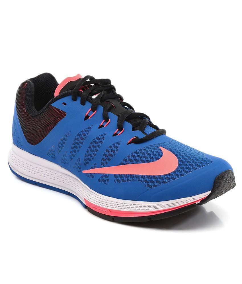 Conception innovante 62546 5ad8a Nike Zoom Elite 7 Blue Sport Shoes