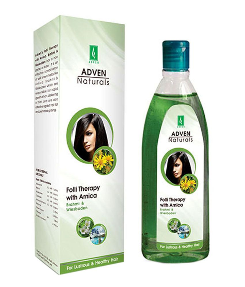 Adven Naturals Adven Naturals Folli Therapy With Arnica, Brahmi And Wiesbaden