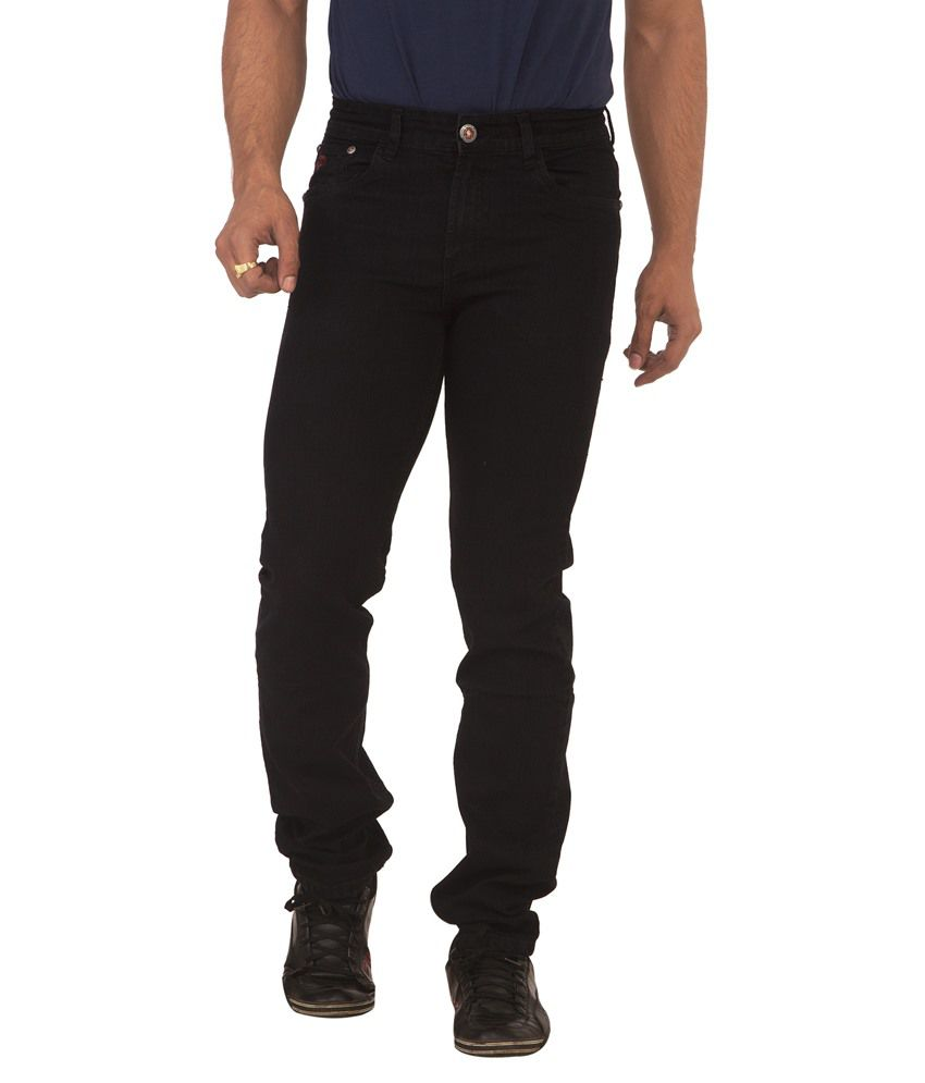 Race-Q Black Jeans For Men