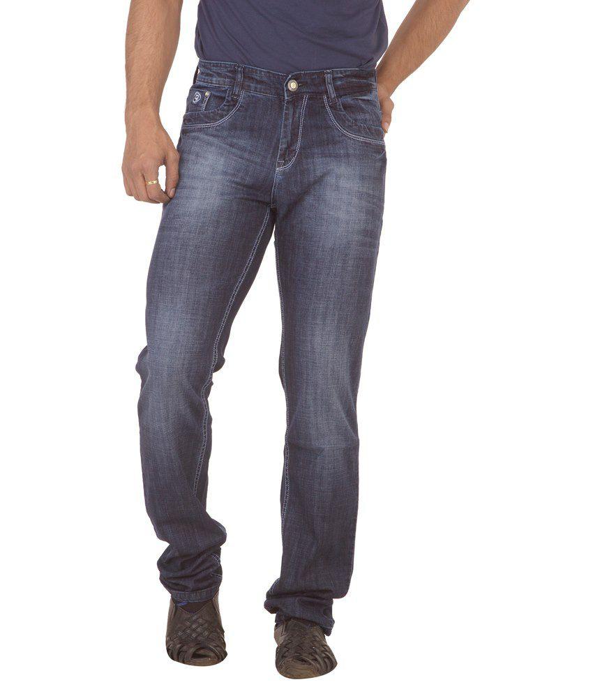 Race-Q Blue Jeans For Men