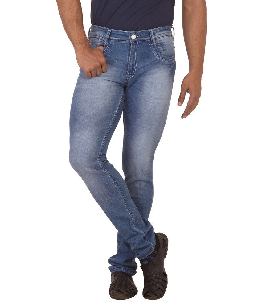 Race-Q Blue Jeans For Men