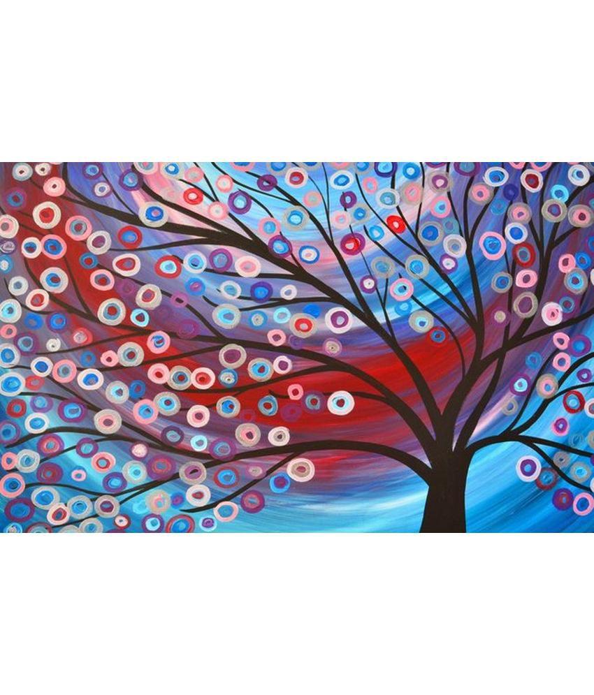 Wonder Images Pvt. Ltd. Decorative Floral Canvas Art