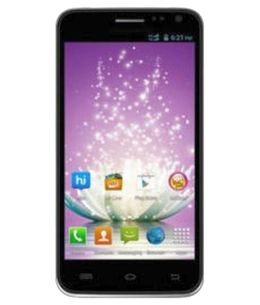 Micromax ( 4GB and Below , 768 MB ) Black
