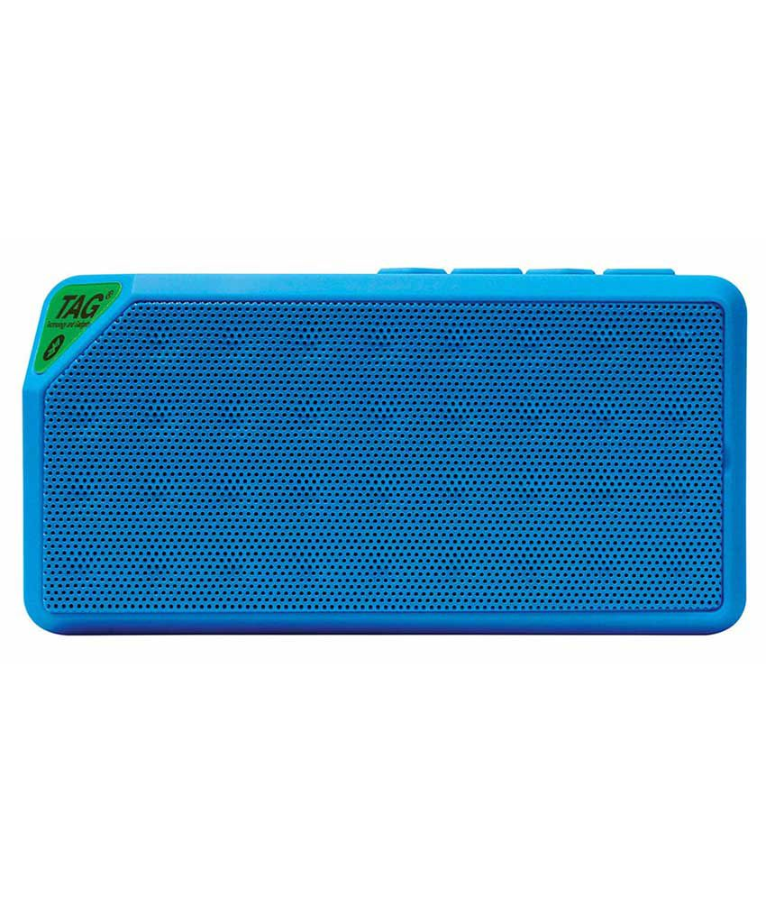 Tag Bluetooth Speakers 2 Computer Speakers Blue