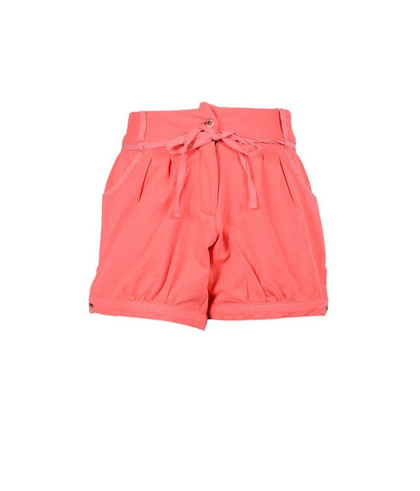 Ello Coral Shorts For Kids