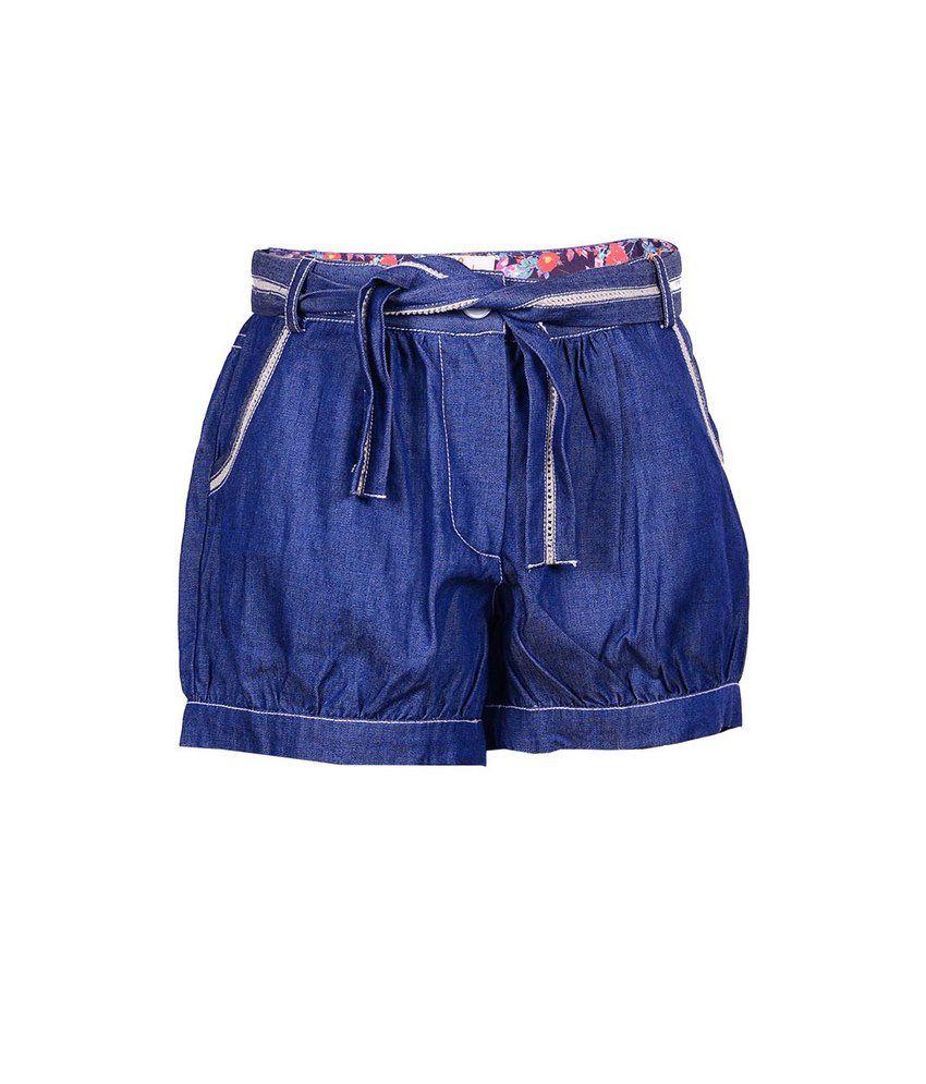 Ello Dk Indigo Shorts For Kids