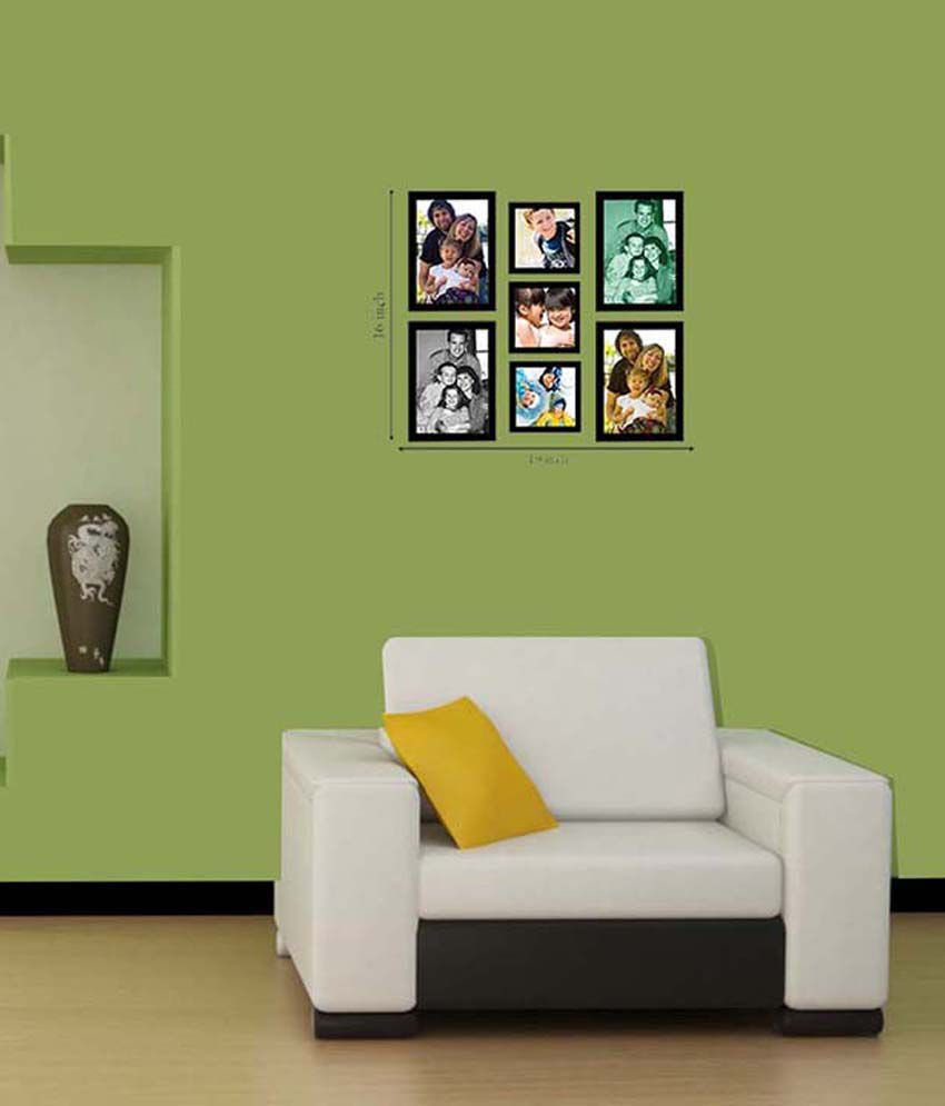 Painting mantra wall collage black photo frame timeline with 7 painting mantra wall collage black photo frame timeline with 7 frames jeuxipadfo Gallery