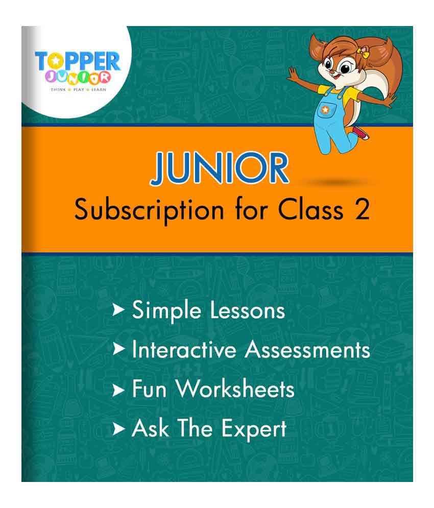 TopperLearning Junior Annual Online Subscription for Class 2: Buy