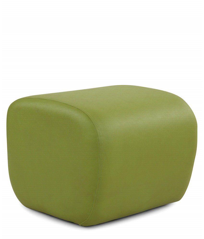 Arra Candy Ottoman Green