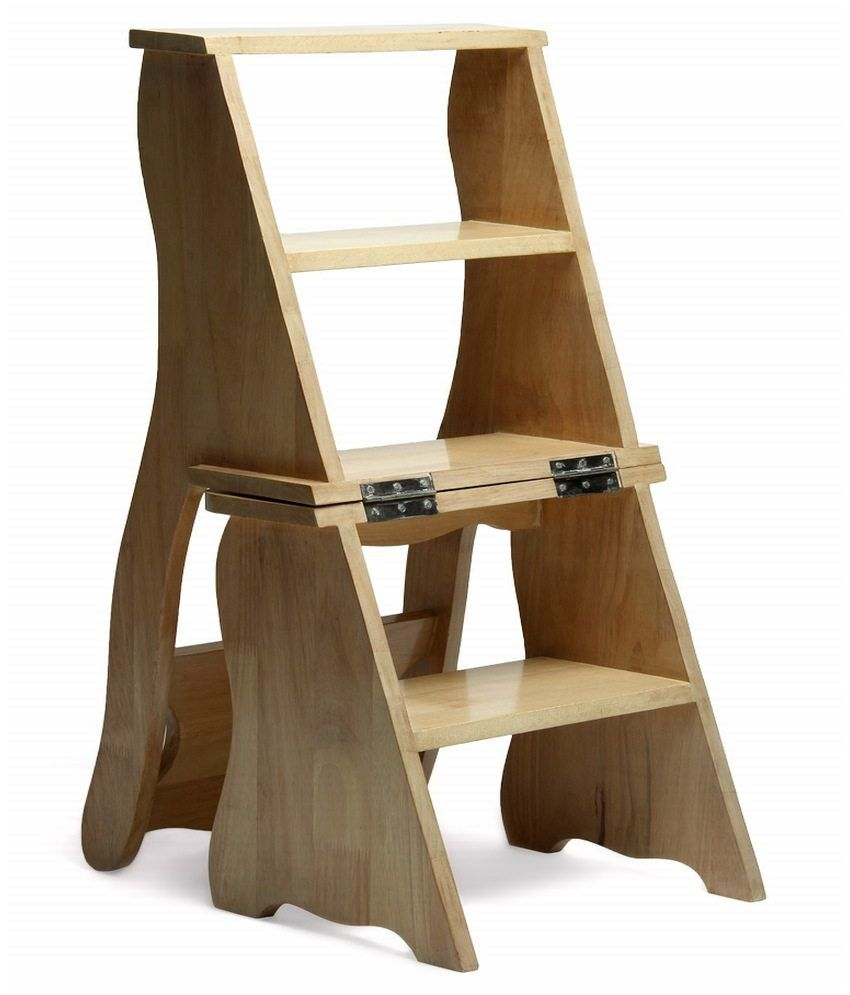 Lovely Step Ladder Stool Seat