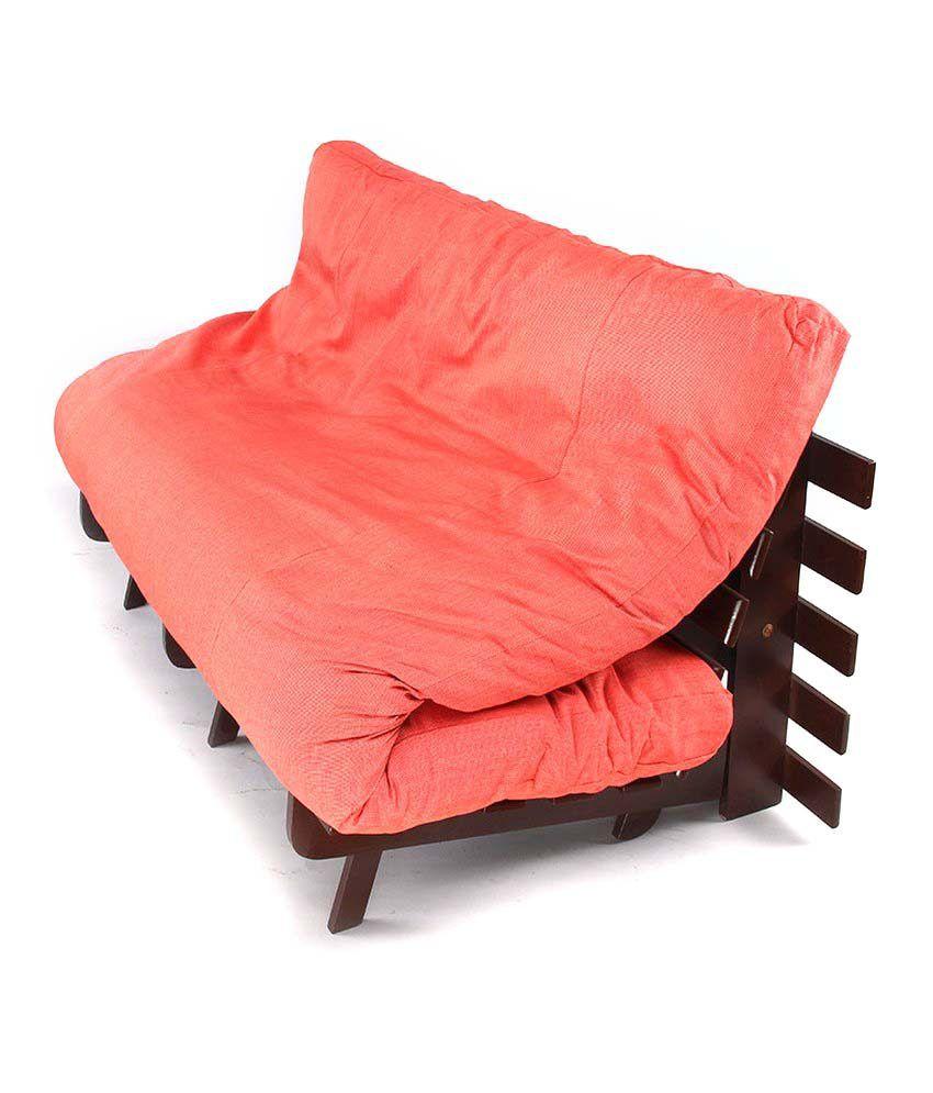 Arra Double Futon Sofa Cum Folding Beds Bed With Mattress