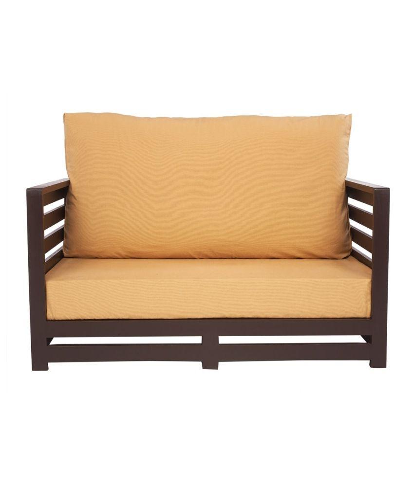 Arra Jinjer Contemporary Sofa Set Light Brown