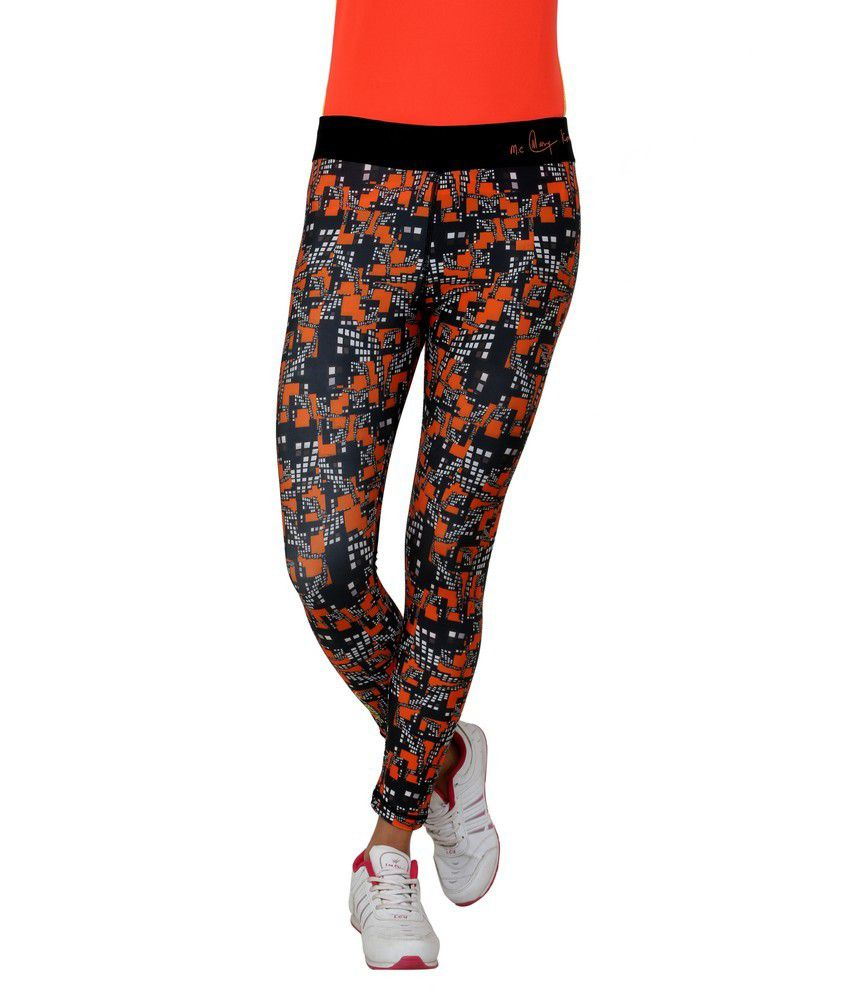 Dida Multi Color Polyester Tights