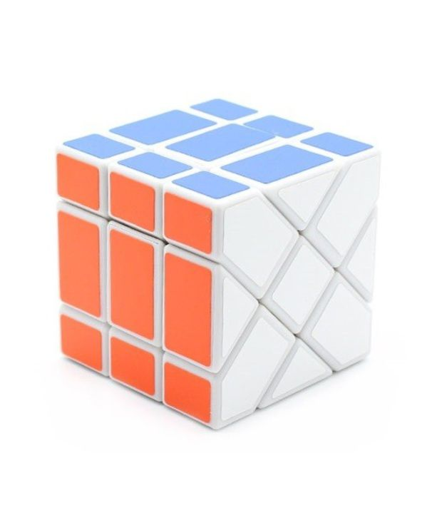 MoYu Fisher cube White Base Cube