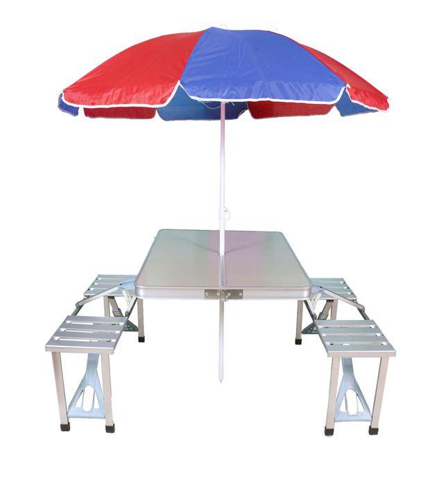 picnic table u0026 umbrella