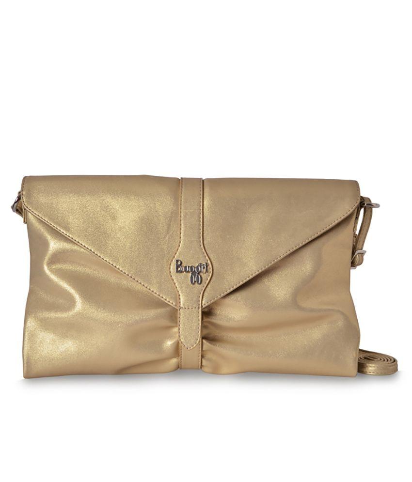 Baggit Gold Sling Bag - Buy Baggit Gold Sling Bag Online at Best ...