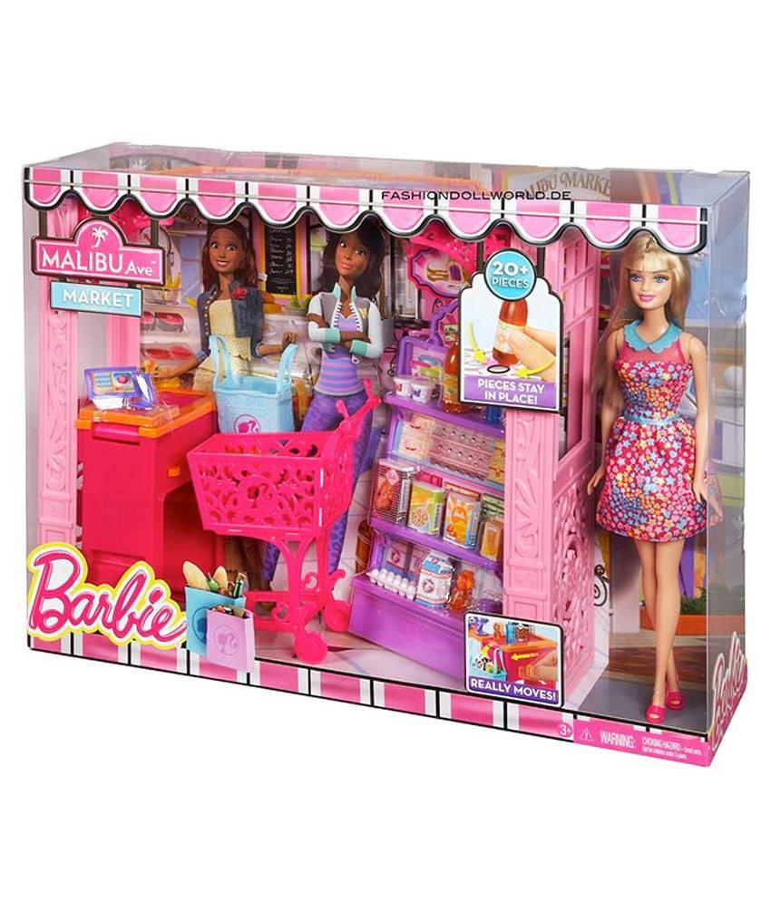 Barbie Malibu Avenue Shop - Buy Barbie Malibu Avenue Shop Online