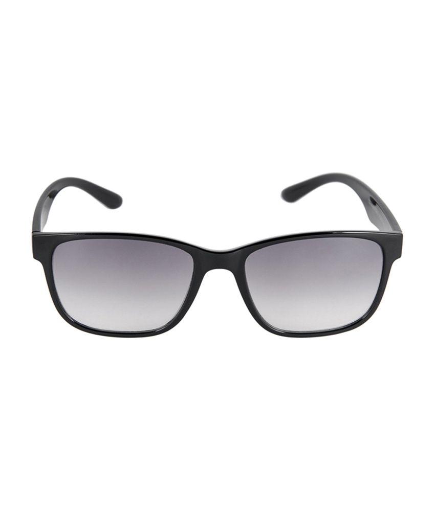 0e998b1f6db6 David Blake 52018 Size-56 Black & Gray Wayfarer Sunglasses - Buy ...