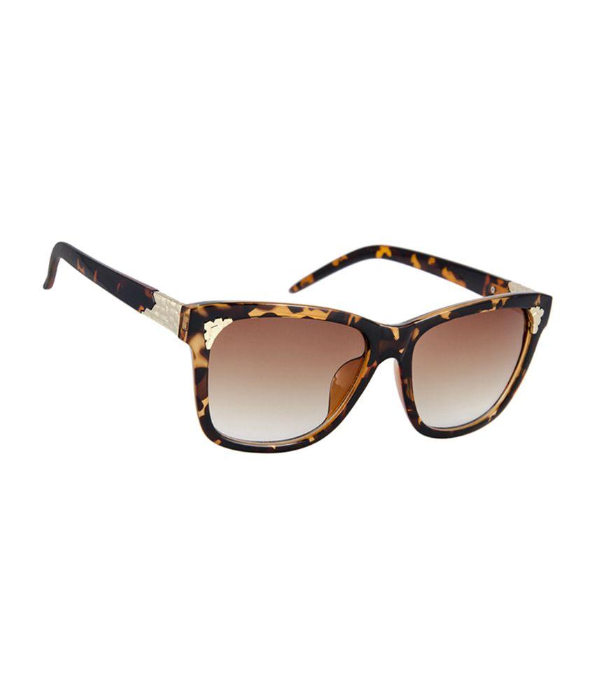 David Blake 96959 COL13 Size-58 Brown Wayfarer Sunglasses