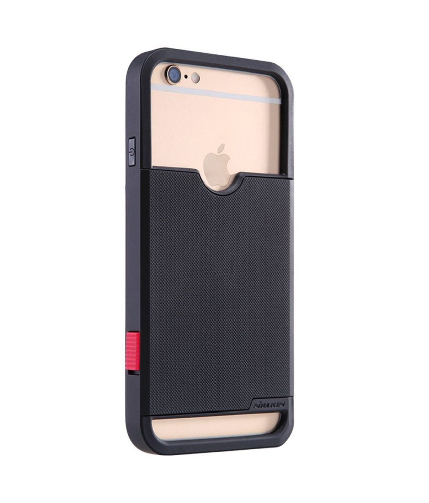 separation shoes 56ddb ea3d6 Nillkin Camera Shutter Key Switch Back Case Cover For Apple Iphone 6 (4.7  Inch)
