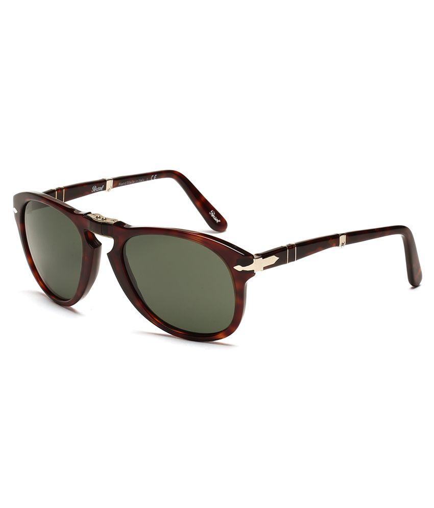 504434d36ff40 Persol 714 24 31 52-21-140 Round Unisex Sunglasses - Buy Persol 714 24 31  52-21-140 Round Unisex Sunglasses Online at Low Price - Snapdeal