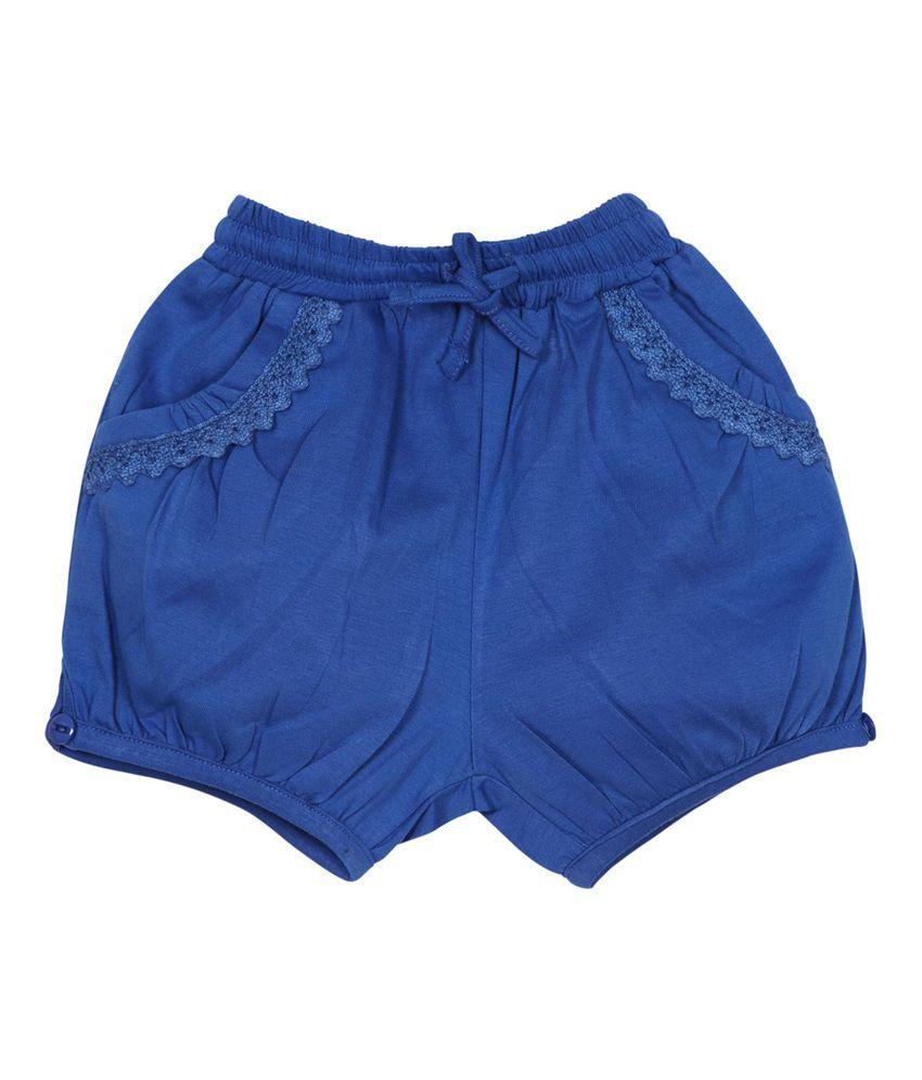 Oye Multi color Cotton Solids Shorts