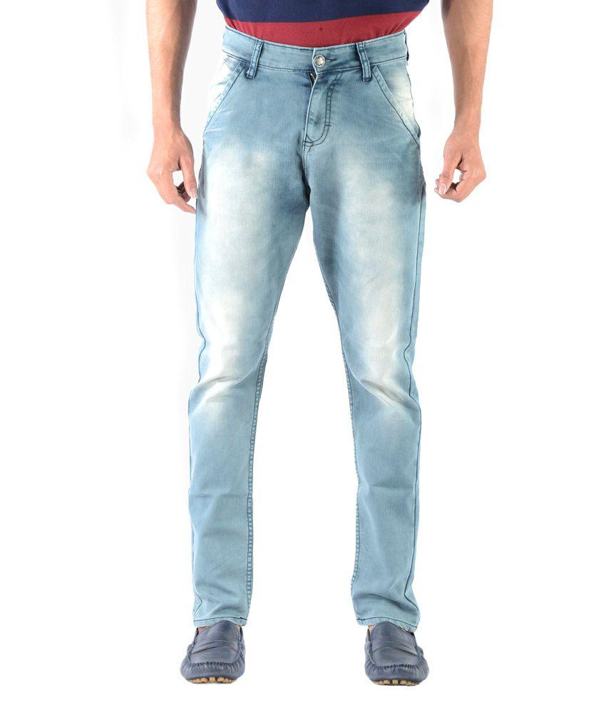 Vintage Skie Studio Light Blue Slim Fit Jeans