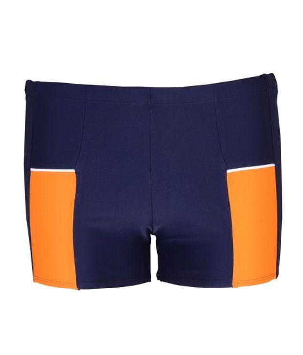 Champ Men Navy Blue Swimwear - Trunks/ Swimming Costume