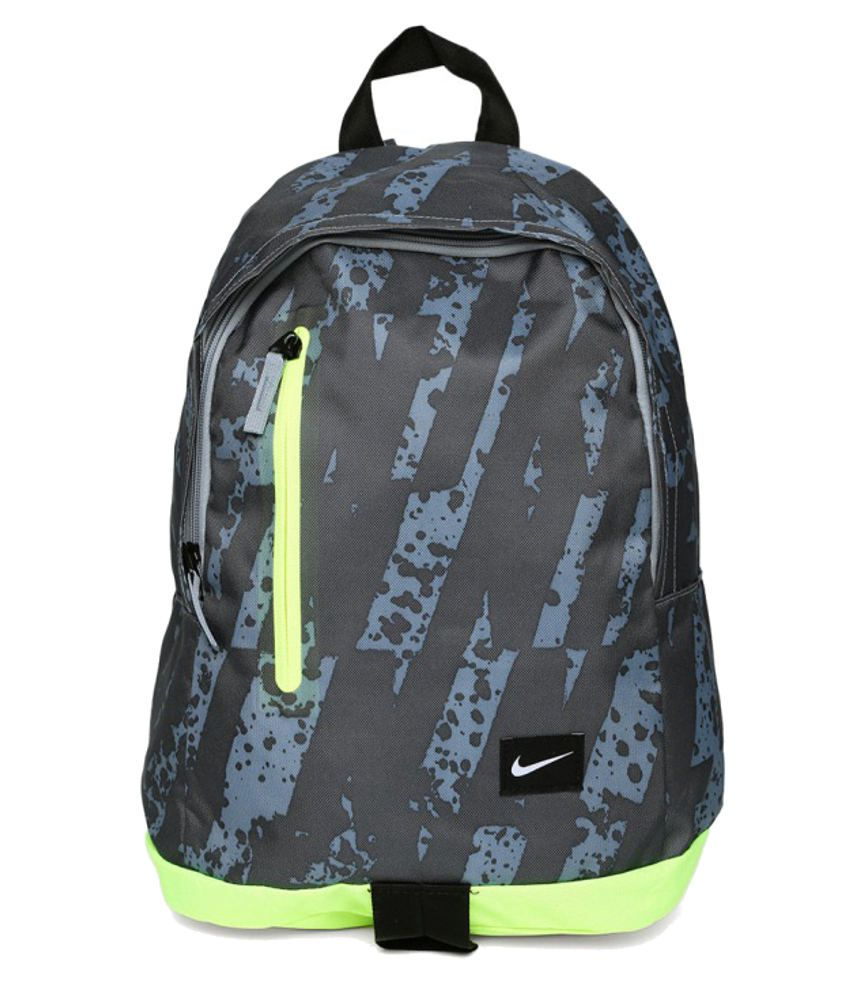 b4d93591bed Nike Black and Yellow Backpack - Buy Nike Black and Yellow Backpack Online  at Best Prices in India on Snapdeal