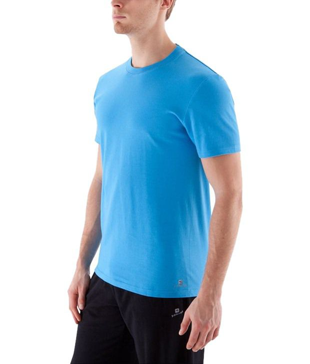 Domyos Blue Sports T Shirt for Men