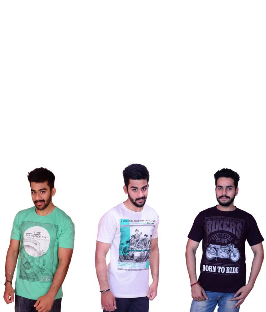 Cotton T-shirt (Set of 3)