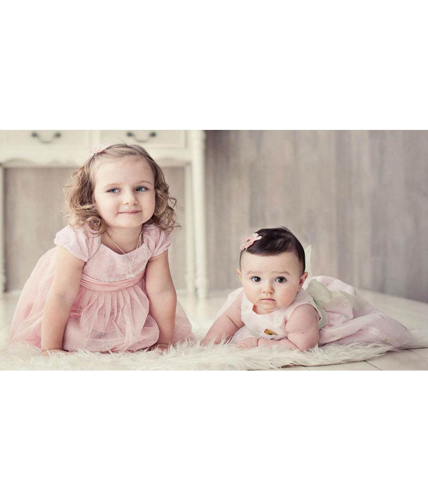 698828c8d71 Mntc Two Cute Baby Poster (12 X 18 Inch) (12 X 18 Inch)
