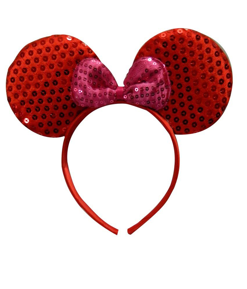 Sanjog Red Mickey Mouse Hairband For Kids  Buy Online at Low Price in India  - Snapdeal 39138478675