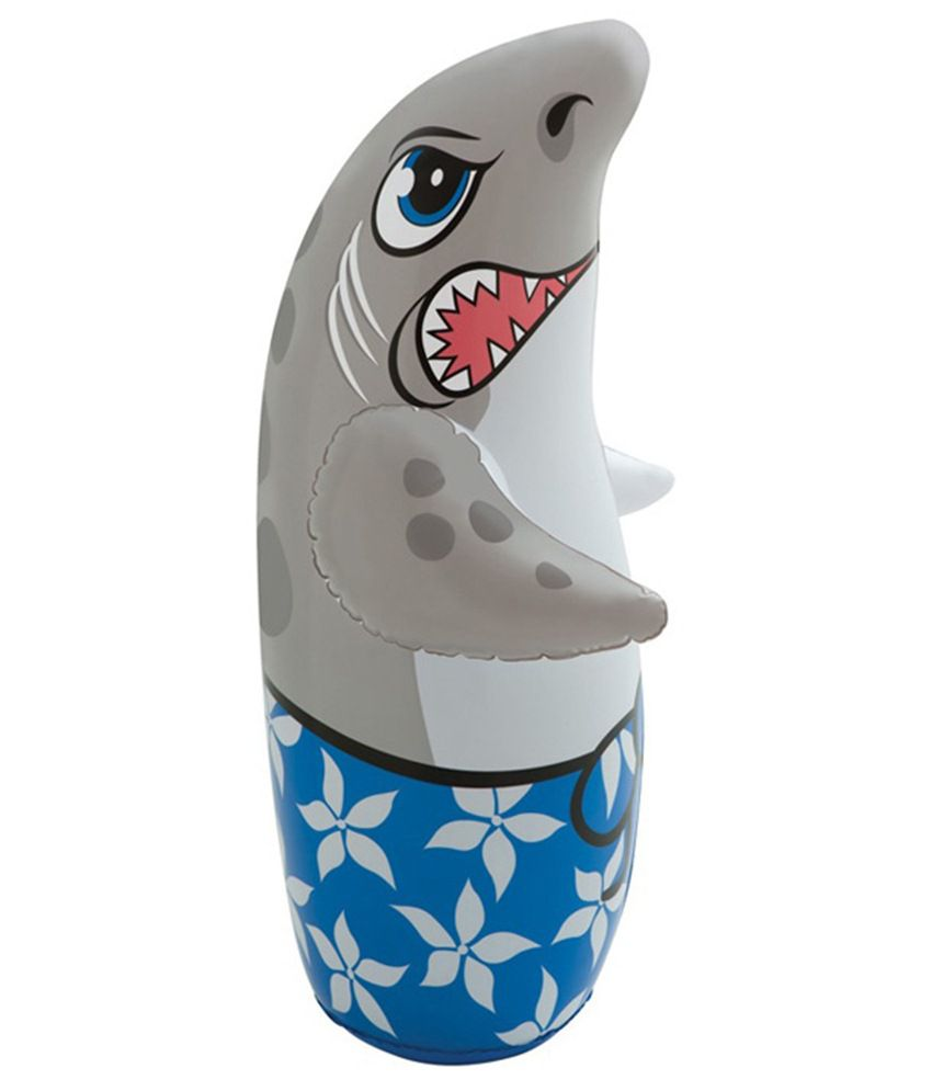 Intex Inflatable Intex Inflatable Plastic Hit Me Shark