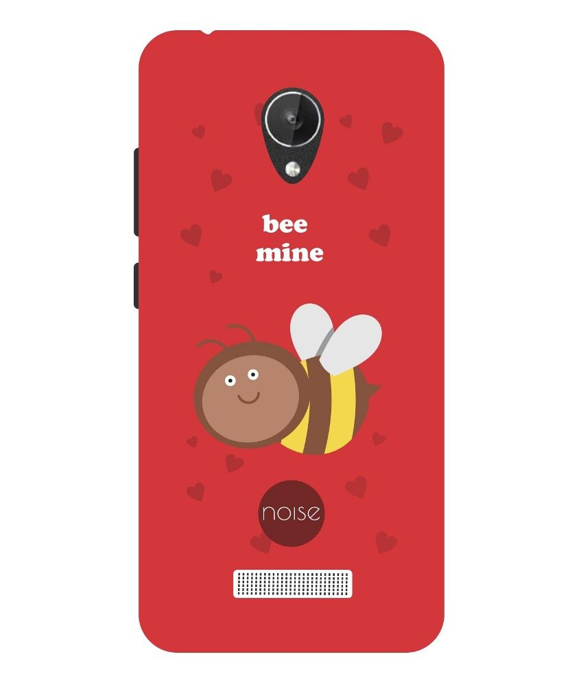 size 40 f2558 75ddc Noise Bee Mine Printed Cover For Micromax Canvas Spark Q380