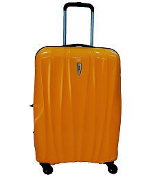 VIP Maglev Yellow Nxt Dlx 4 Wheel Trolly- (28 Inches)