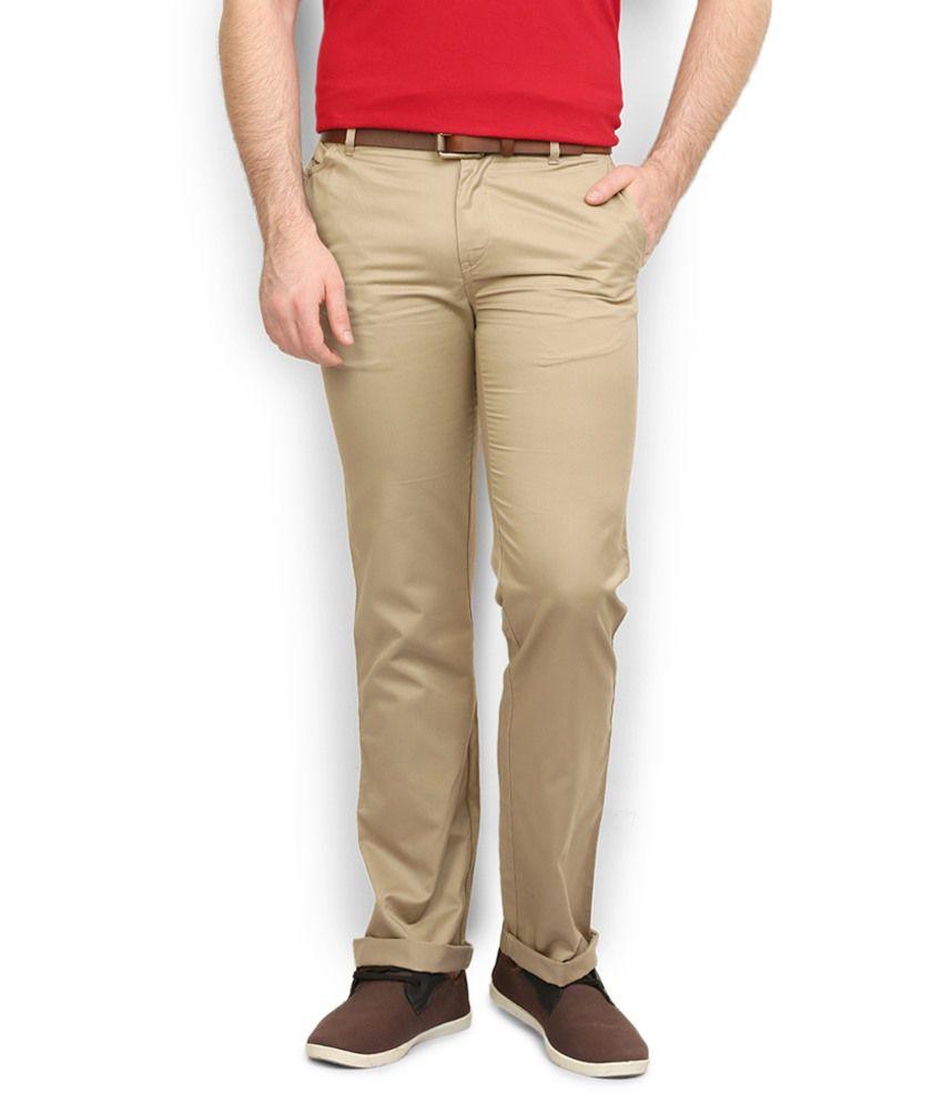 Police Khaki Cotton Trousers
