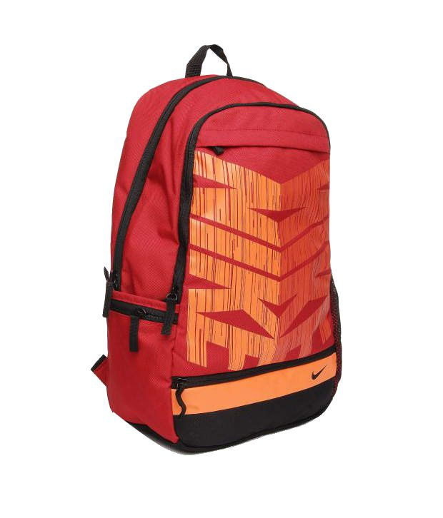 Nike Classic Line Backpack Red and Orange Backpack - Buy Nike ... 77cd09305f