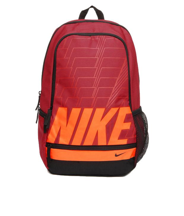 Nike Classic North Backpack Red and Orange Backpack - Buy Nike Classic  North Backpack Red and Orange Backpack Online at Best Prices in India on  Snapdeal