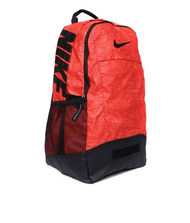 daa1ab9e575b Nike Team Training Medium Graphic Backpack Red Backpack - Buy Nike ...