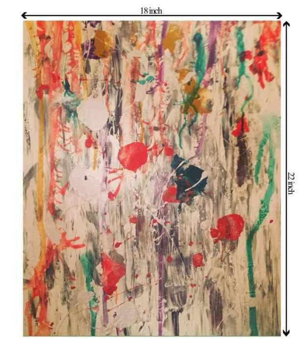 Sajawathomes Amazing Colourful Canvas Life Painting