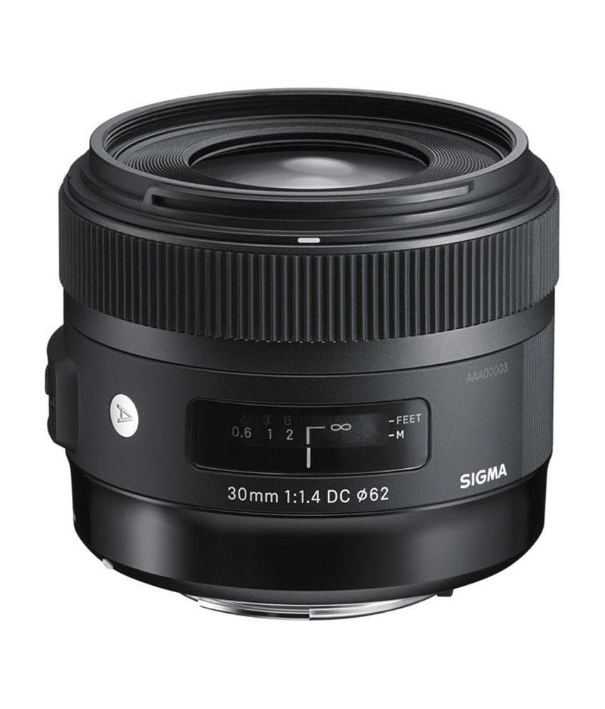 Sigma 30mm F/1.4 EX DC HSM Art lens for Canon Cameras
