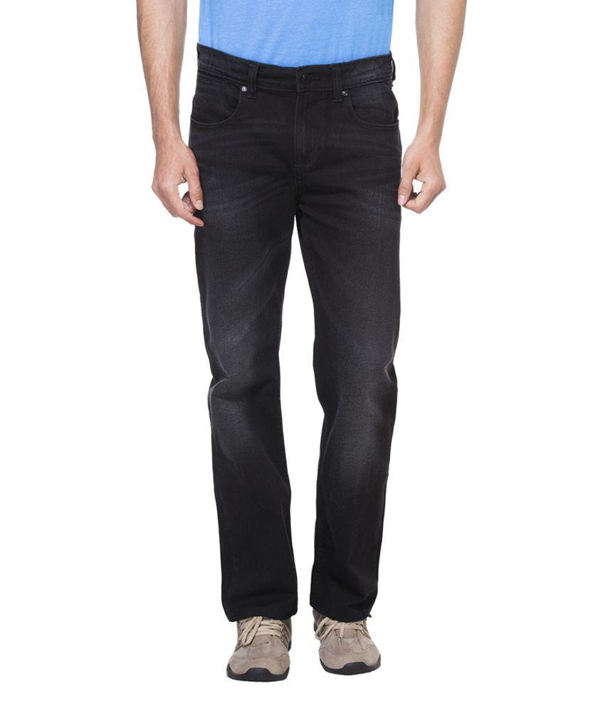 Zovi Slim Stretch Fit Black Denim Jeans