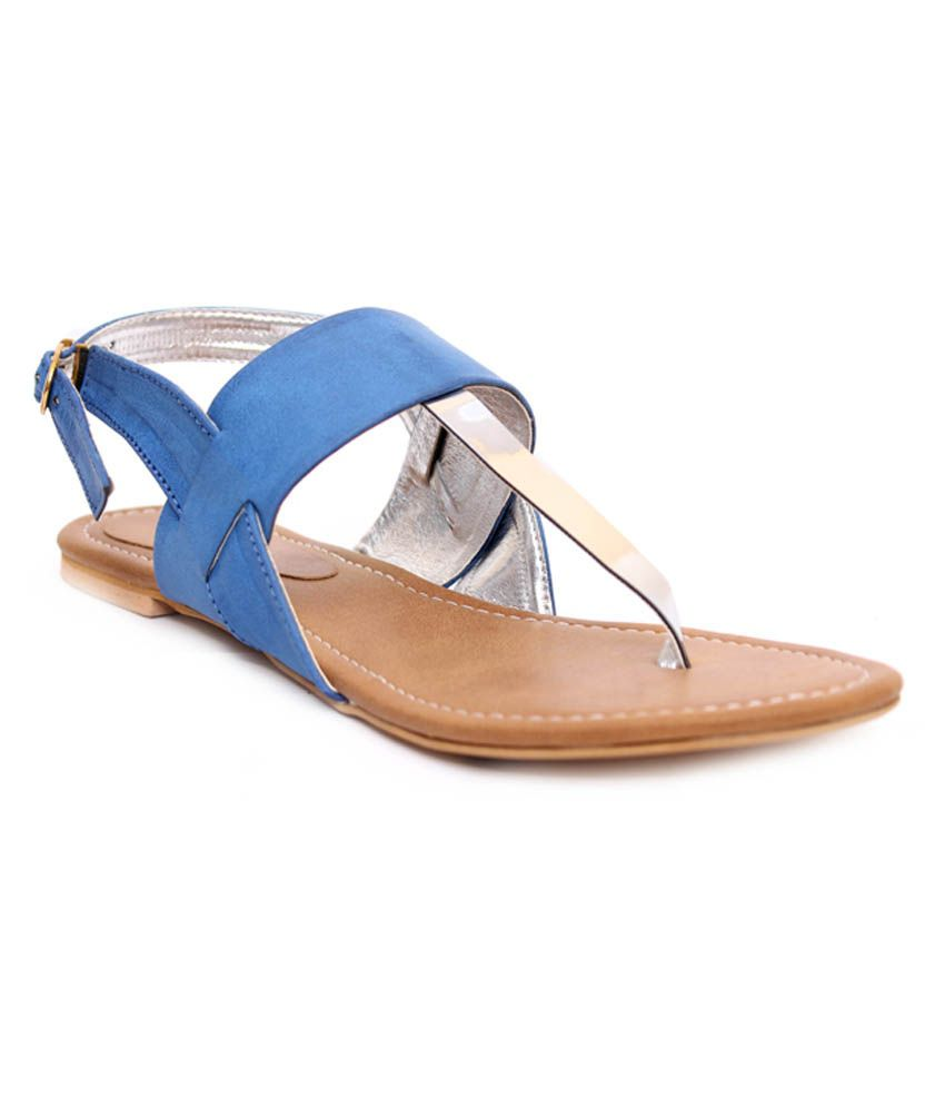 Klaur Melbourne Blue Sandals
