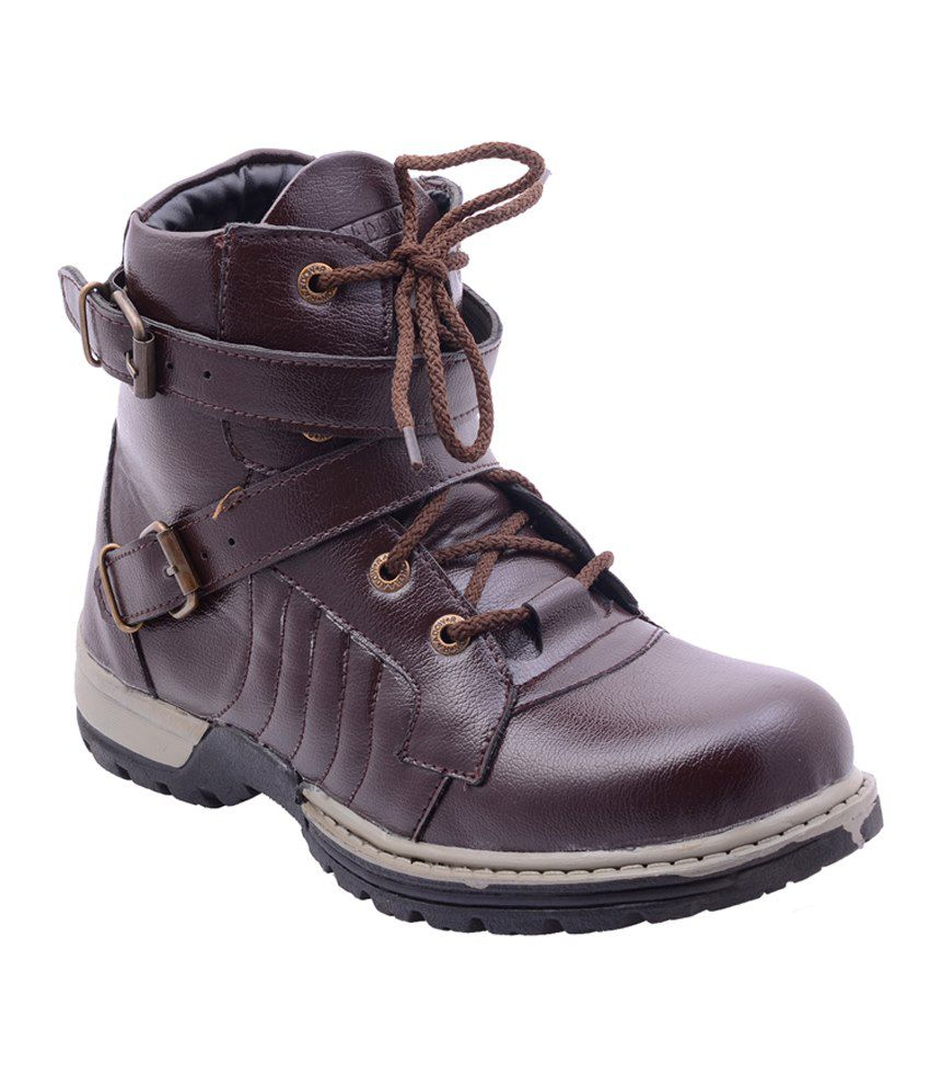 Porcupine Brown Camping Boots